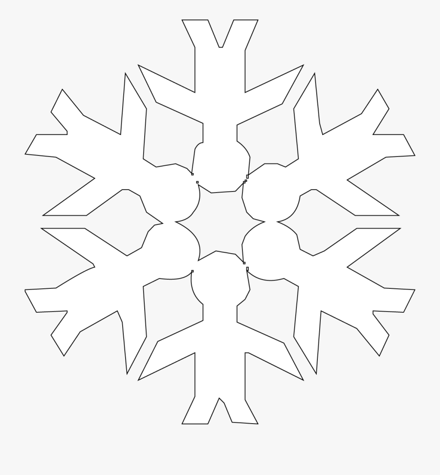 Winter Wonderland - Snowflake, Transparent Clipart