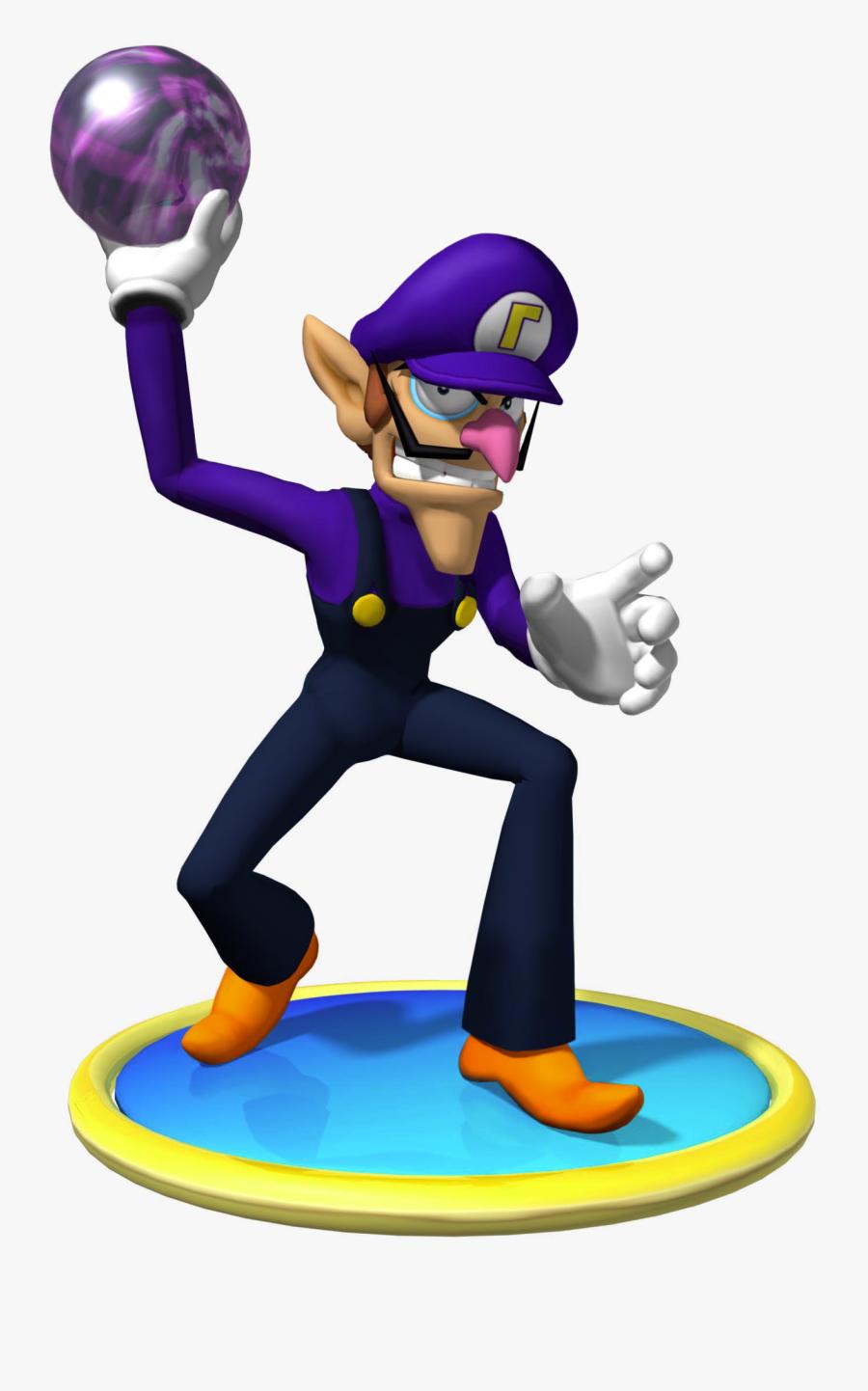Waluigi Clipart , Png Download - Mario Party 4 Waluigi, Transparent Clipart