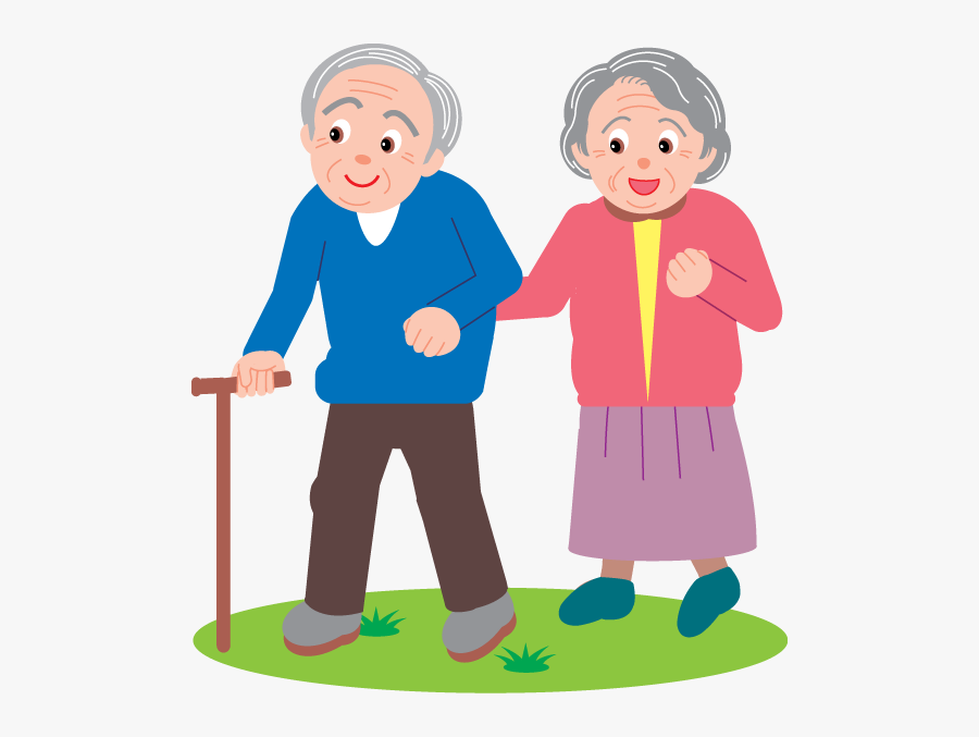 I Lost Another Classmate This Week - Old People Vector Png, Transparent Clipart