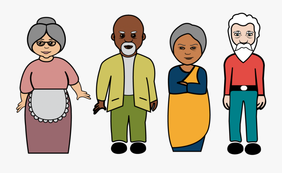 Hello Clipart Social Person - Old People Png Clipart, Transparent Clipart