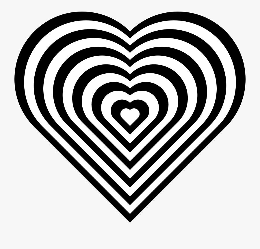 Zebra - Print - Clipart - Design Hearts Coloring Pages, Transparent Clipart