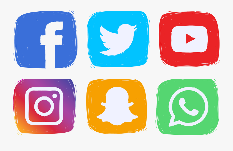 Social Media Icons Clipart Png Download Logo Facebook Instagram Youtube Png Free Transparent Clipart Clipartkey