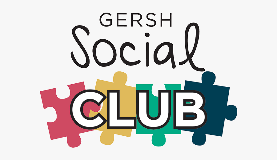 Affiliated Gersh Programs - Social Club Sign Clipart, Transparent Clipart