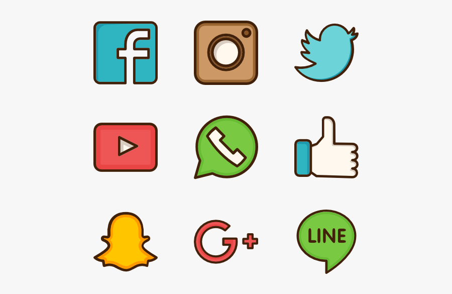 Social Media Computer Icons Social Network Clip Art - Social Media Vector Png, Transparent Clipart