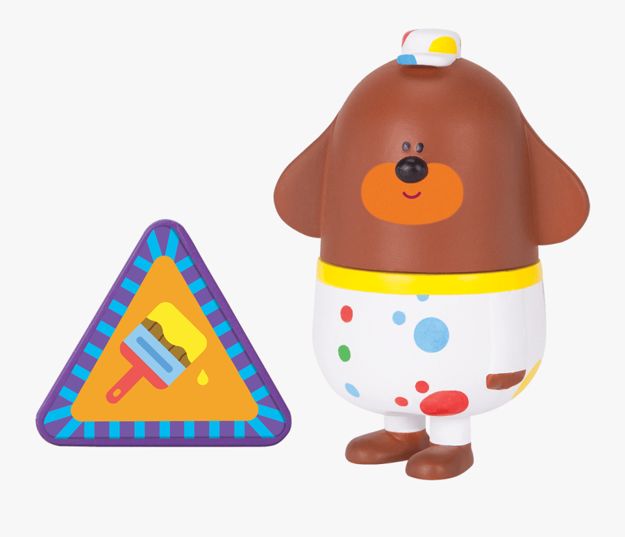 Duggee With Decorating Badge - Hey Duggee, Transparent Clipart