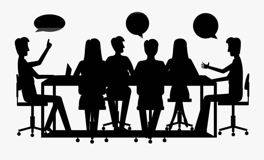 Social Group Clip Art Human Behavior Public Relations - Silhouette, Transparent Clipart