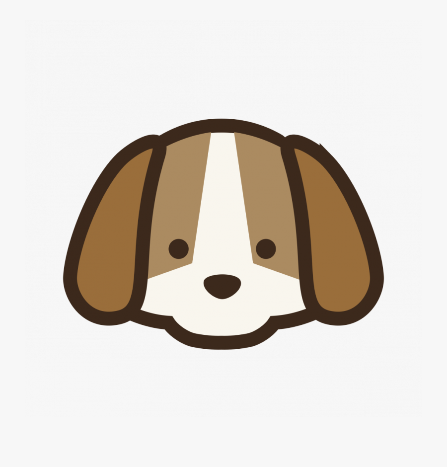 Large Size Of Cartoon Face App Ios On Body Painting - Cute Dog Face Cartoon, Transparent Clipart