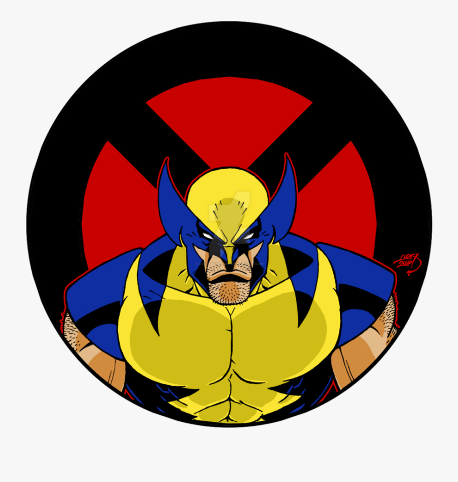 Drawing Wolverine Badass Banner Black And White Library - Banner Wolverine, Transparent Clipart