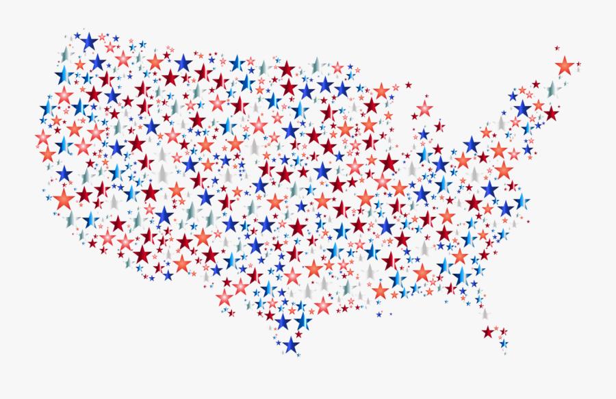 Blue,heart,symmetry - United States Map Image Clip Art, Transparent Clipart