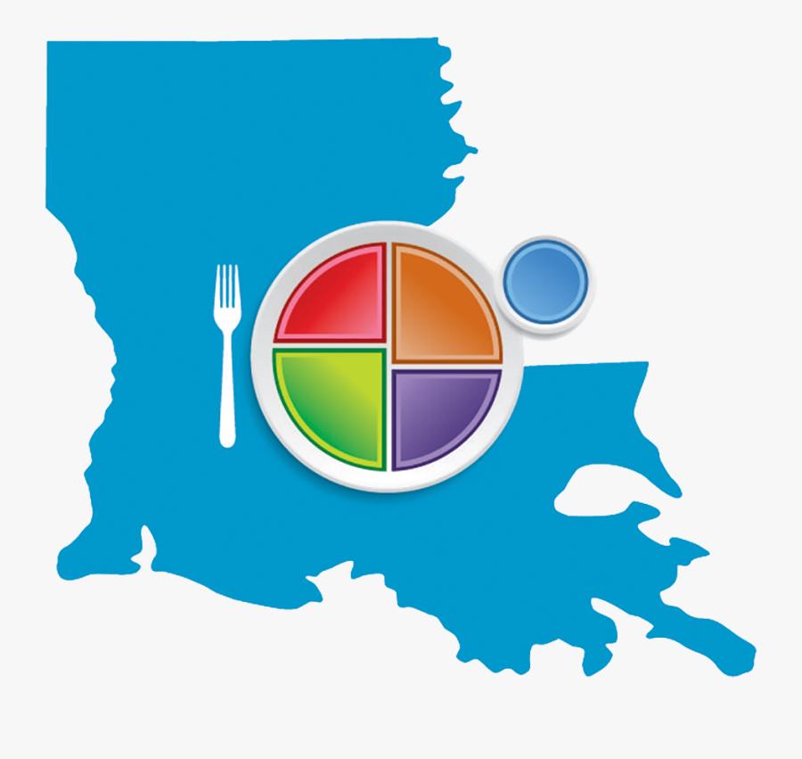 Choose Myplate Louisiana Logo - Port Hudson La Map, Transparent Clipart