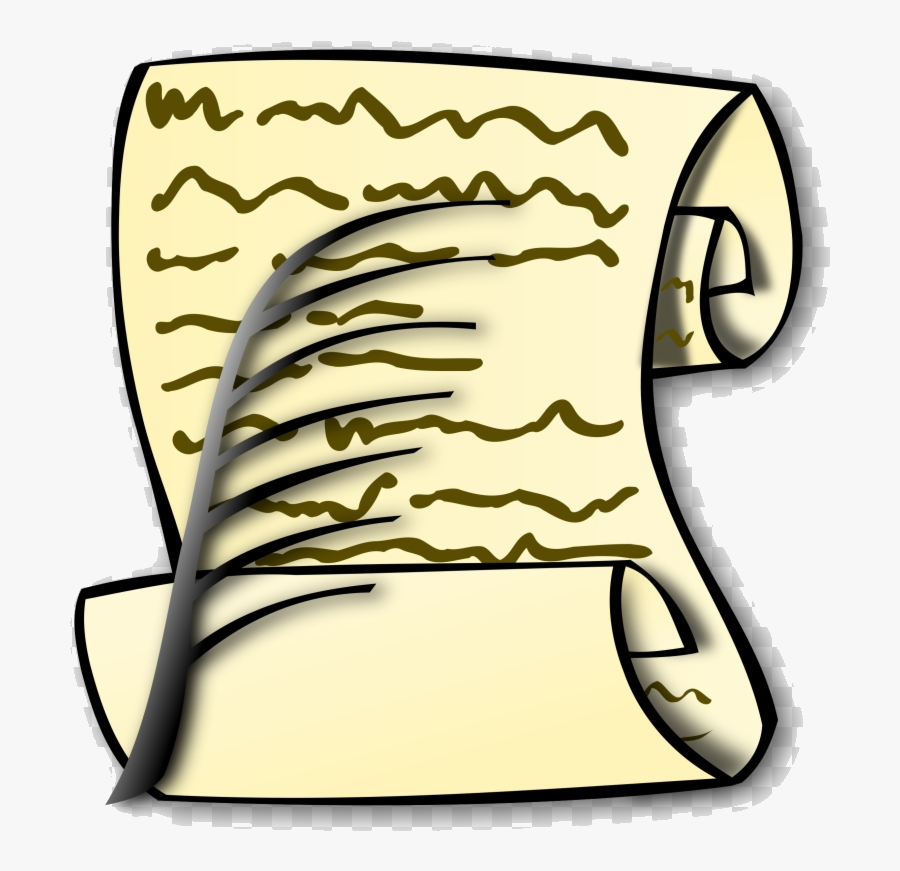 Bill Scroll Clip Art Of Rights Transparent Png - Bill Of Rights Symbol, Transparent Clipart