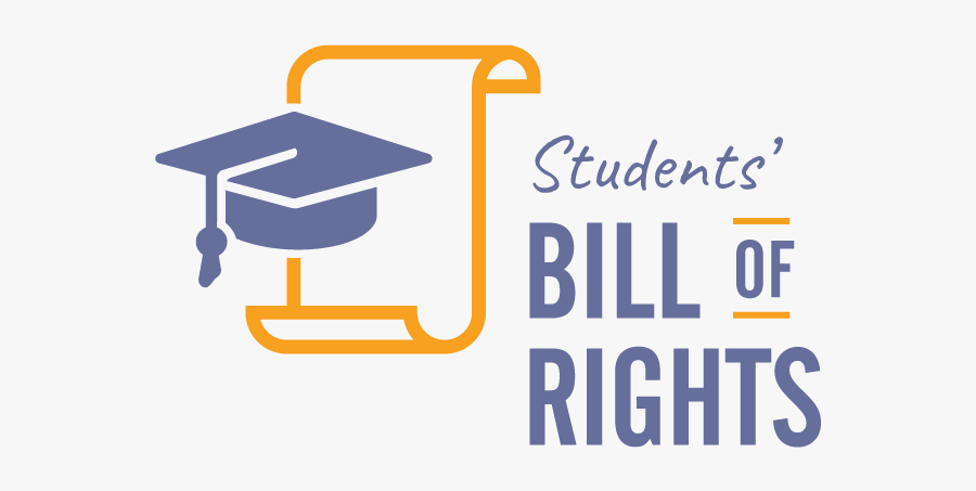 Student Bill Of Rights, Transparent Clipart