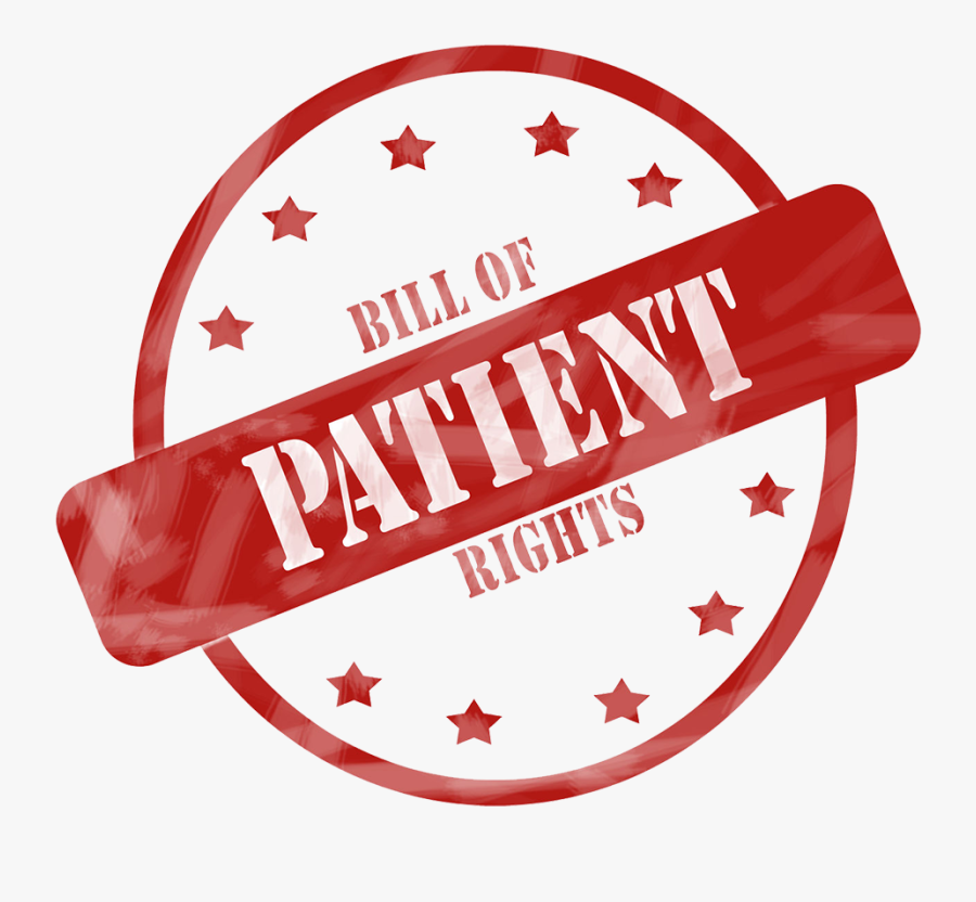 Responsibility Clipart Patient Right - Patient Bill Of Rights Clipart, Transparent Clipart