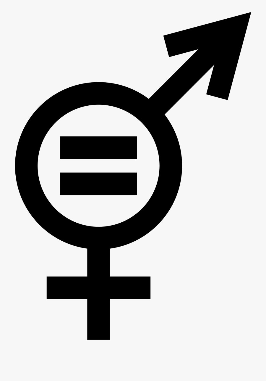 Student Rights Cliparts - Gender Equality Icon Png, Transparent Clipart