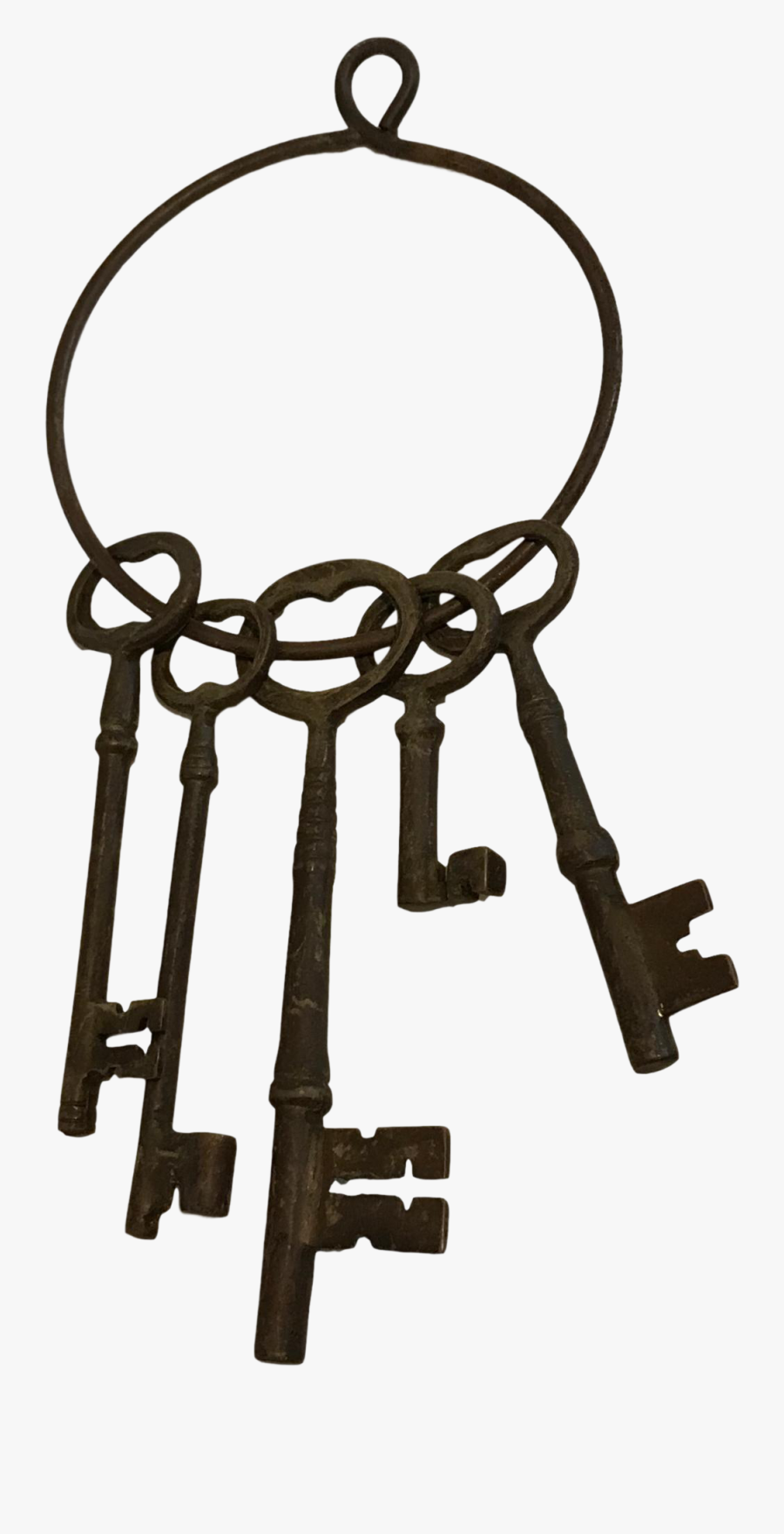 Transparent Boxing Ring Clipart - Ring Of Keys Png, Transparent Clipart