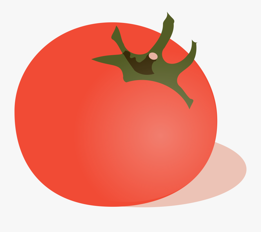 Tomatoes Clipart Big Plant - Tomato Clip Art, Transparent Clipart