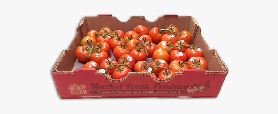 Clip Art Products Fresh Produce Llc - Tomato Box Png, Transparent Clipart