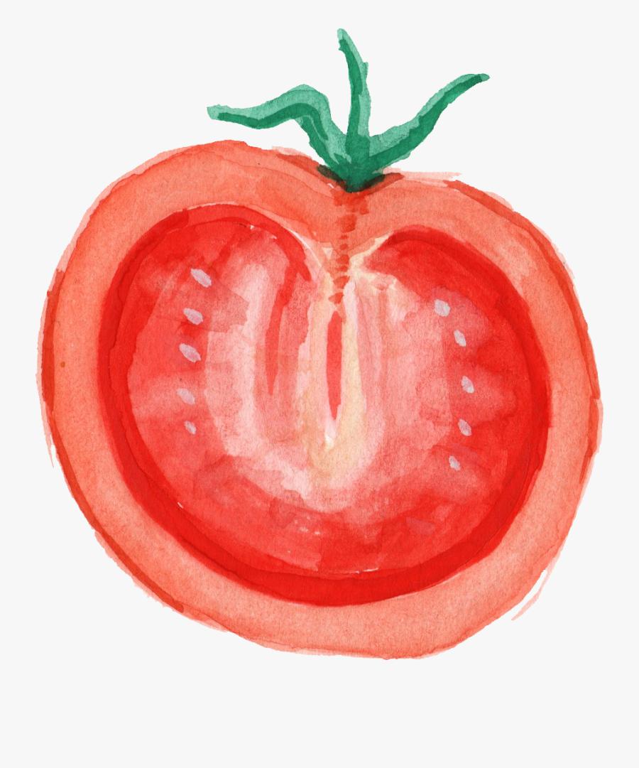 Transparent Tomato Png - Plum Tomato, Transparent Clipart