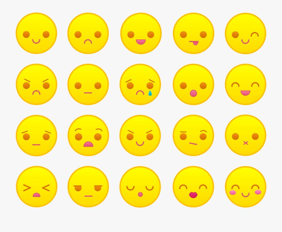 Transparent Confused Emoticon Png - Face Emotes, Transparent Clipart