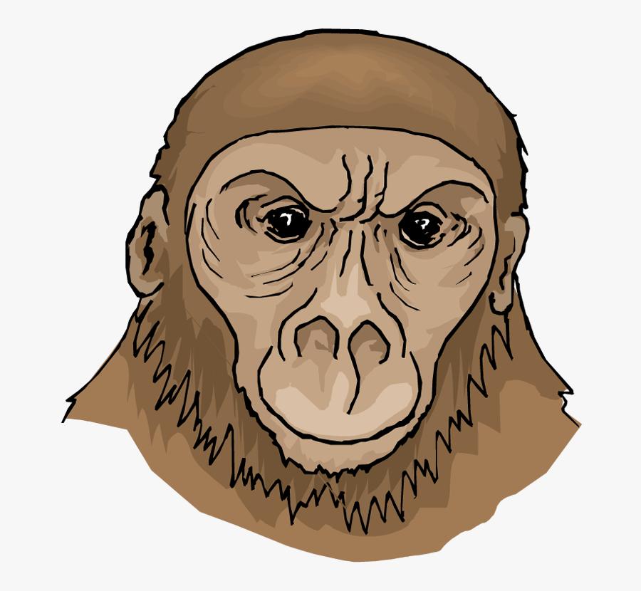 Free Ape Clipart - First Apes Ape Clipart, Transparent Clipart