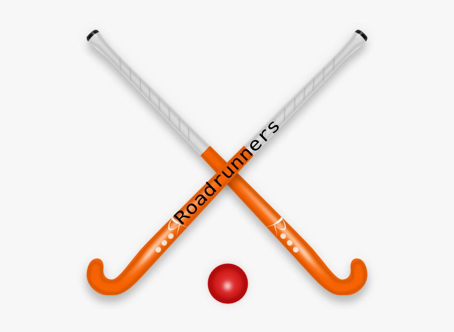 Cartoon Hockey Stick And Ball, Transparent Clipart