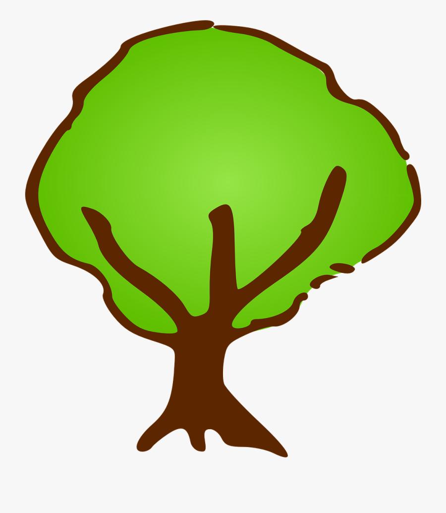 Spring Season Clipart 4, Buy Clip Art - Tree Symbol For Map, Transparent Clipart