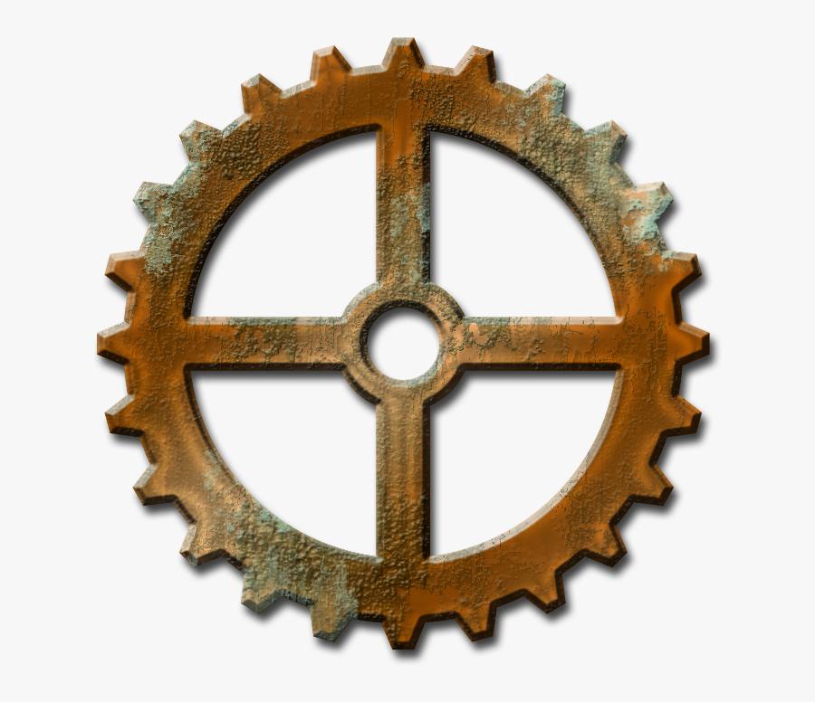 Steampunk Gear Clipart No Background - Shree Ganesh Engineering Logo, Transparent Clipart