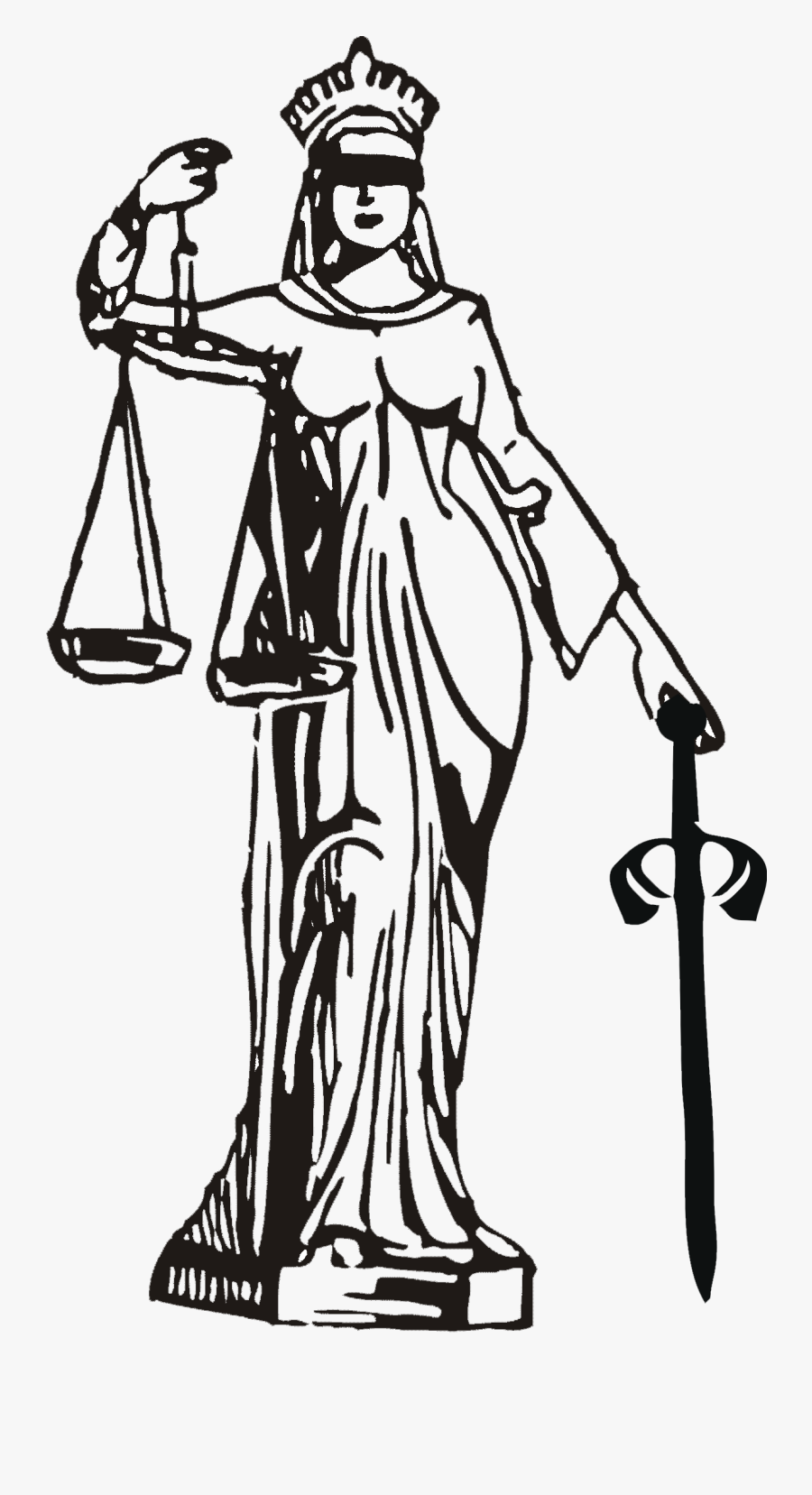 Judge Clipart Lawyer Indian - Advocate Symbol, Transparent Clipart