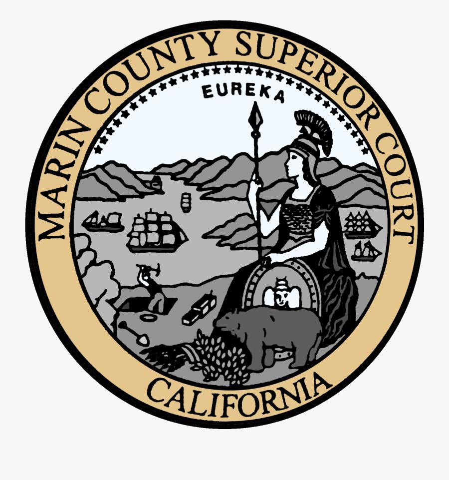 Job Descriptions - Marin County Superior Court Seal, Transparent Clipart