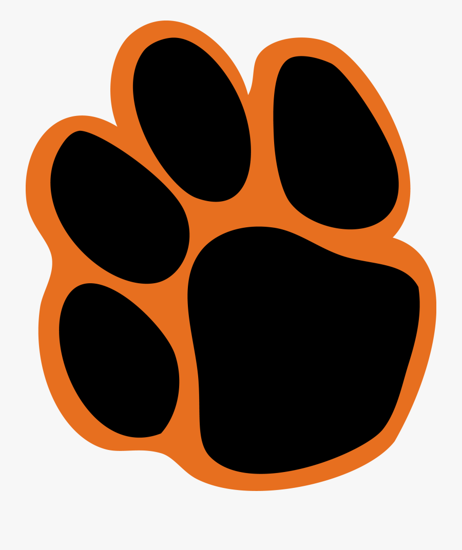 transparent tiger paw png - university of the pacific tiger logo , free  transparent clipart - clipartkey  clipartkey
