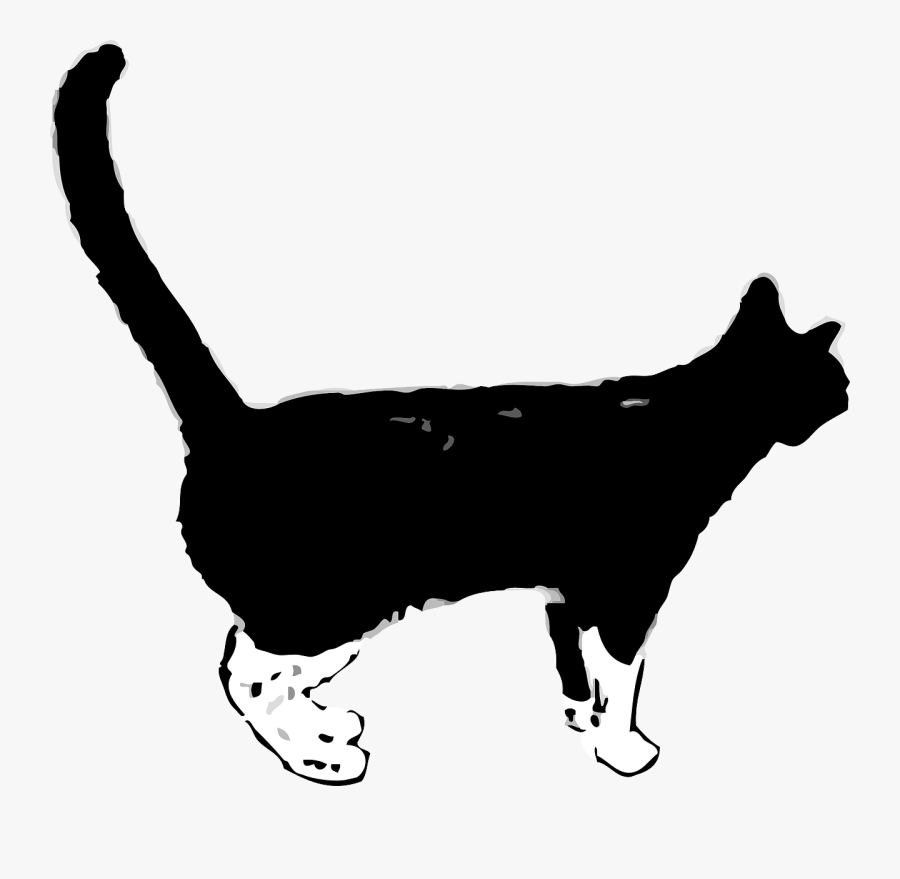 Kitty Clipart Black Panther - Cat Gif Png, Transparent Clipart