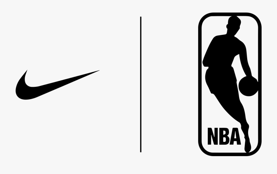 Nike Logo Nba: Nba Logo Png White , Free Transparent Clipart