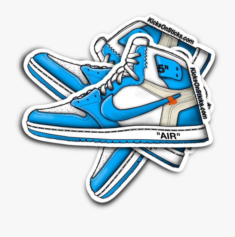 stickers air jordan 1