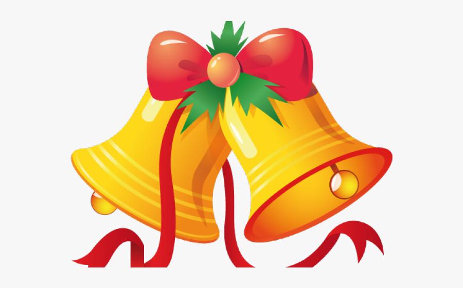 Christmas Cartoon Bell Png, Transparent Clipart