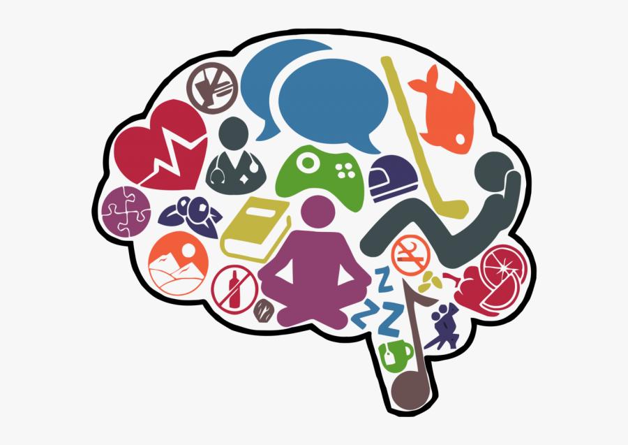 Happy Brain Clip Art, Transparent Clipart
