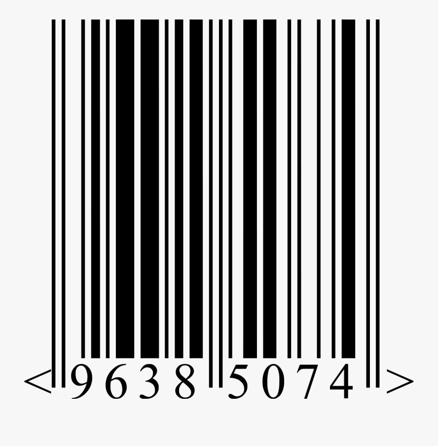 Barcode, Ean Wikipedia - Штрих Код На Прозрачном Фоне Вектор, Transparent Clipart