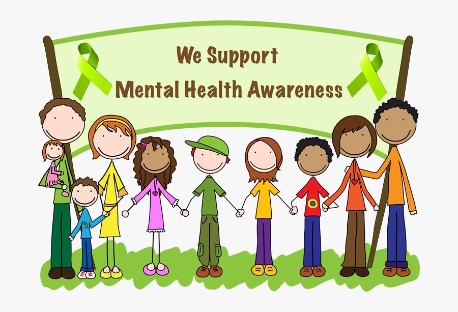 Mental Health Awareness - We Support Mental Health Awareness, Transparent Clipart