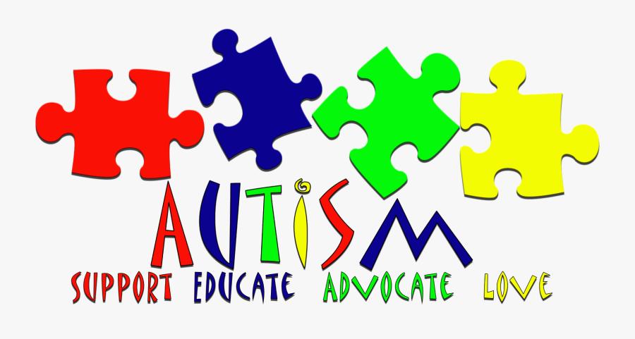 Autism Clipart Group - Autism Support Educate Advocate, Transparent Clipart