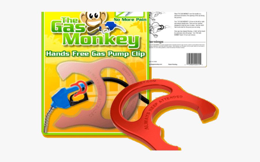 Gas Pump Clip - Gas, Transparent Clipart