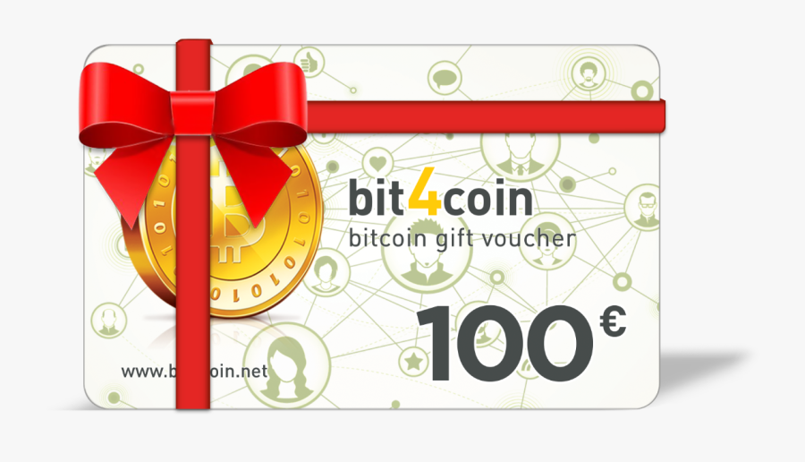 Bitcoin Card Definitely The Best Present For Ⓒ - Bit4coin Gift Card, Transparent Clipart