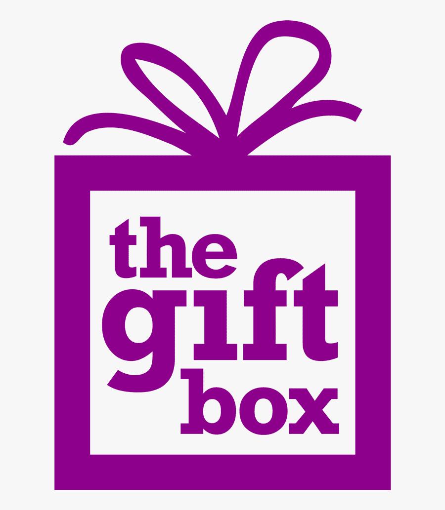 Gift Box Logo Png, Transparent Clipart