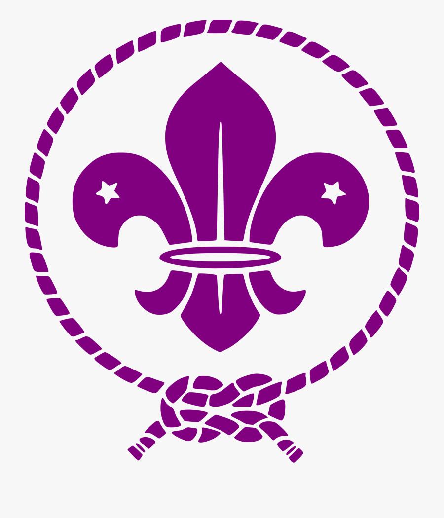 Boy Scouting Organization Emblem Jamboree Of Mata Clipart - Flor De Lis Scout, Transparent Clipart