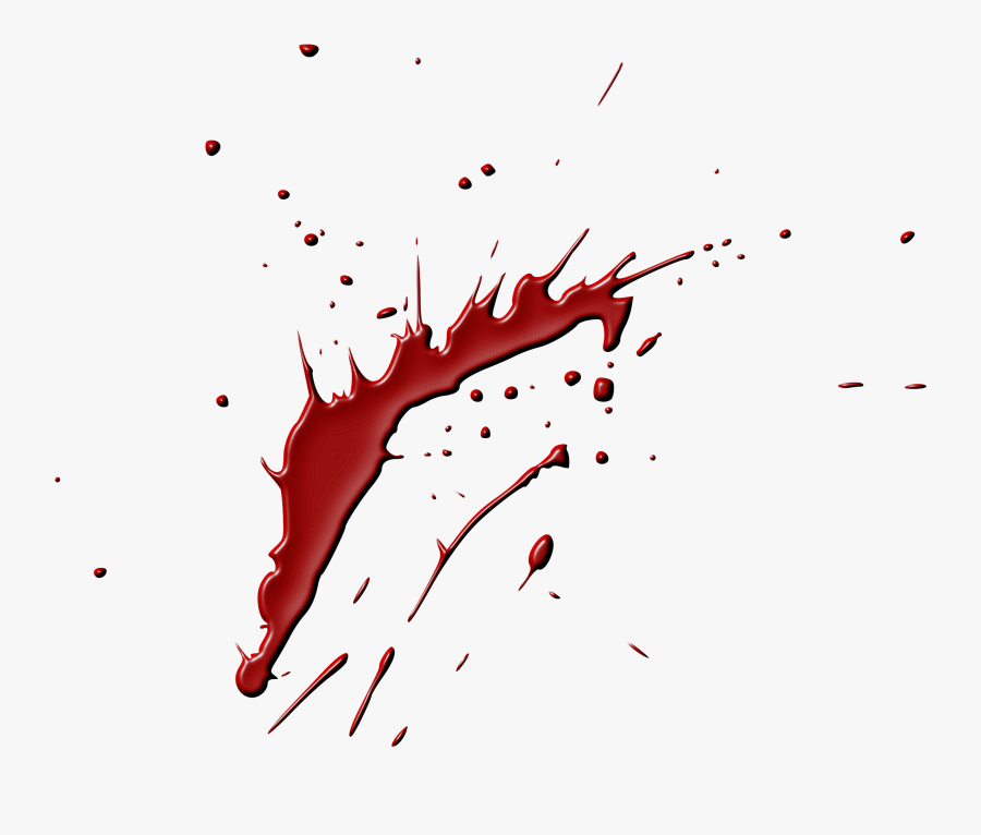Blood Clip Art Black And White Stock - Sweeney Todd Blood Splatter, Transparent Clipart