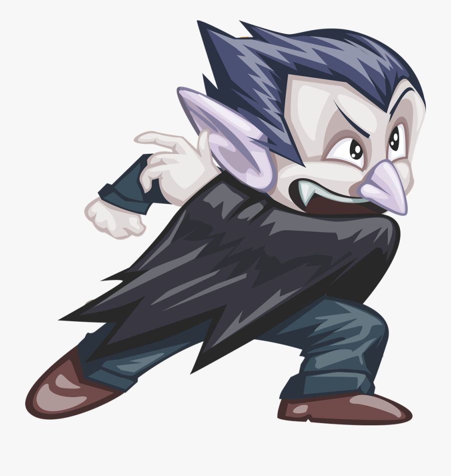 Free To Use & Public Domain Halloween Clip Art - Count Dracula, Transparent Clipart