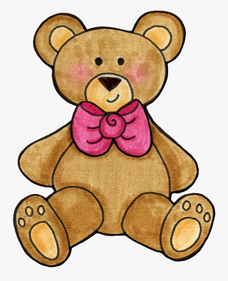 Transparent Baby Shower Clipart - Teddy Bear Clip Arts, Transparent Clipart