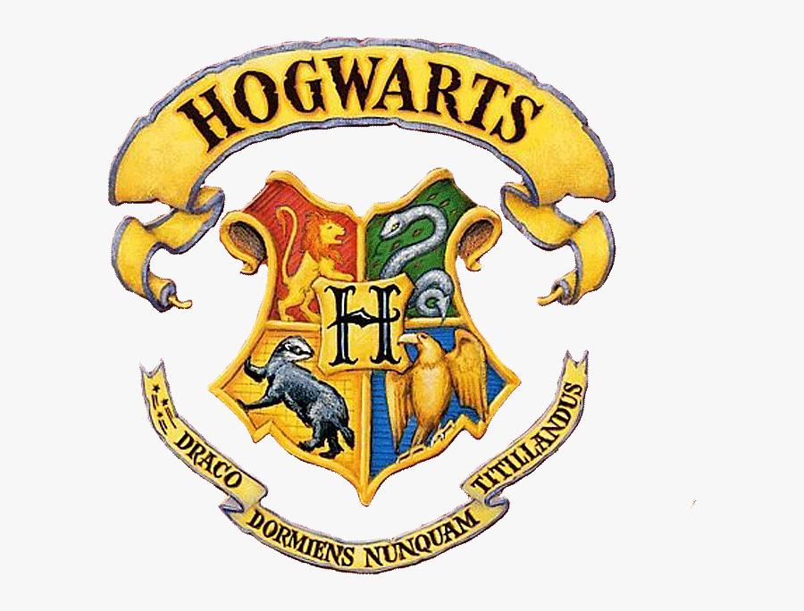 Black And White Library Crest Pinterest - Harry Potter Hogwarts School Logo, Transparent Clipart