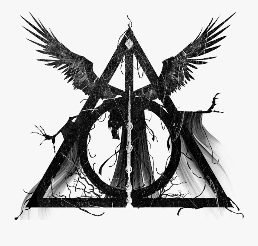 And Deathly Hallows Dumbledore Potter Granger Hermione - Symbol Harry Potter Deathly Hallows, Transparent Clipart