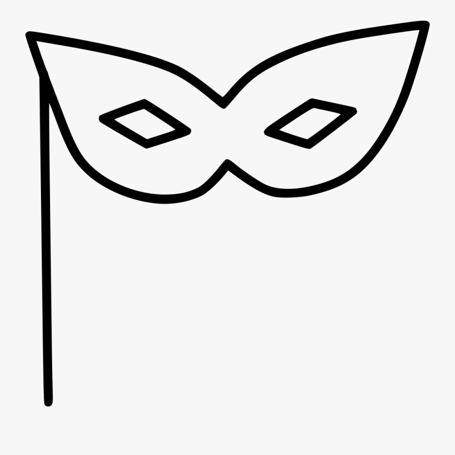Transparent Drama Masks Black And White Clipart - Dibujos Para Colorear De Unicornios, Transparent Clipart