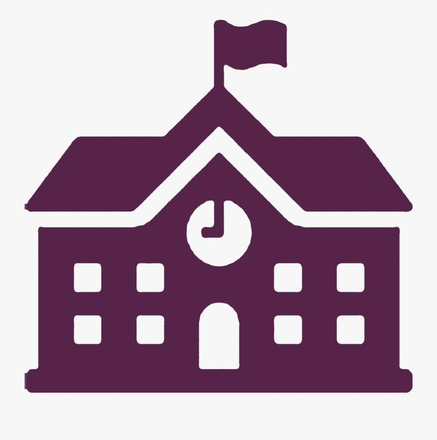 Cougar Clipart Affton - School Symbol On Map, Transparent Clipart