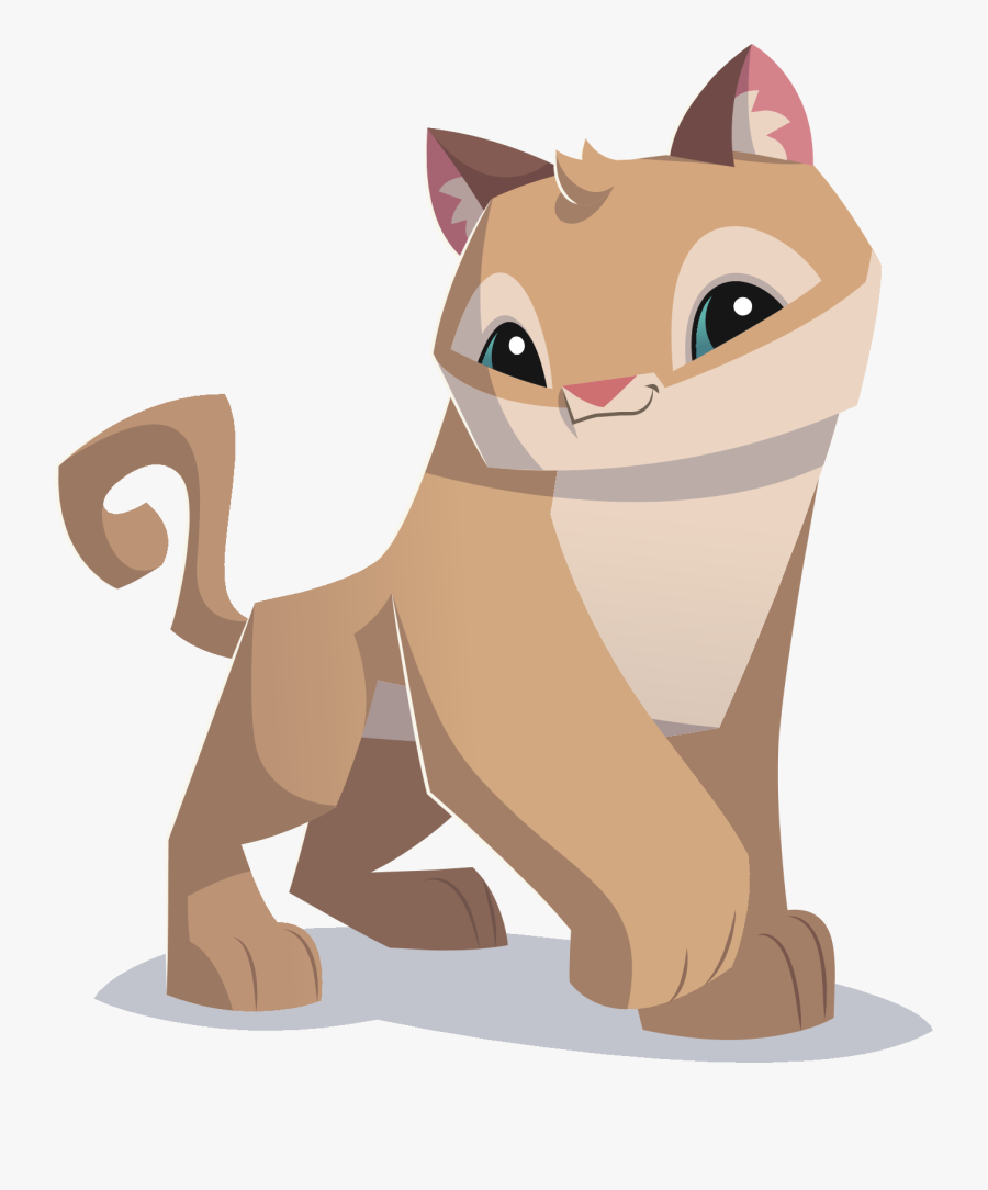 Transparent Cougars Clipart - Animal Jam Play Wild Cougar, Transparent Clipart
